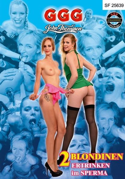 2 Blondinen ertrinken im Sperma