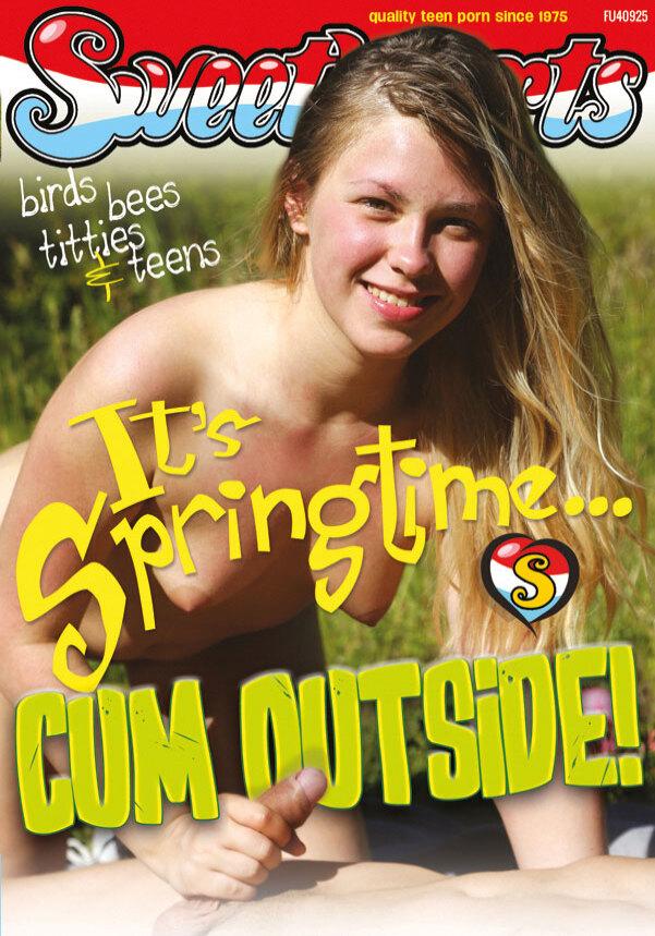 It's Springtime... Cum outside!