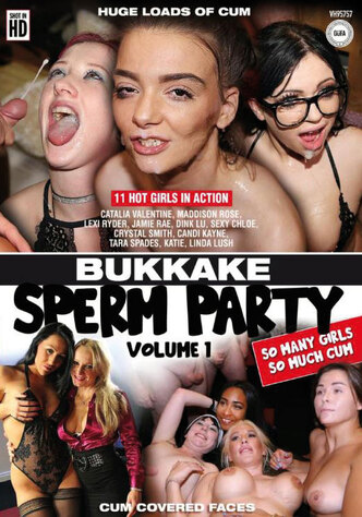 Bukkake Sperm Party
