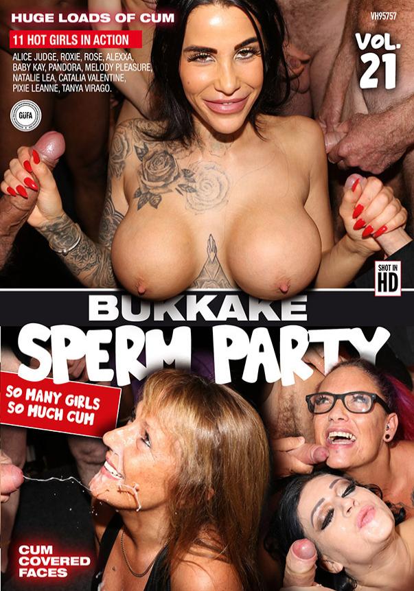 Bukkake Sperm Party 21