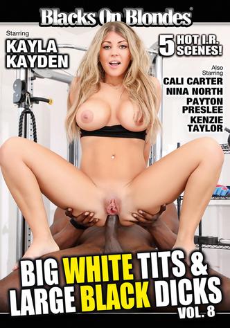 Big White Tits & Large Black Dicks 8