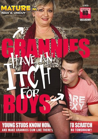 Grannies Have An Itch For Boys