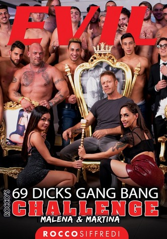 69 Dicks Gang Bang Challenge: Malena & Martina