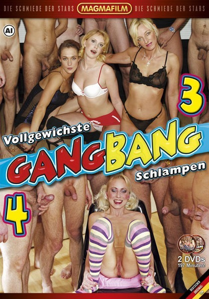 Vollgewichste Gangbang Schlampen 3 & 4