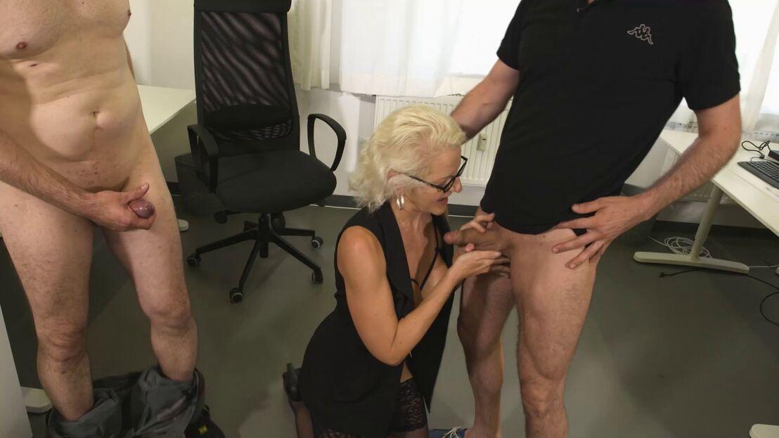 Büro sex Large HD
