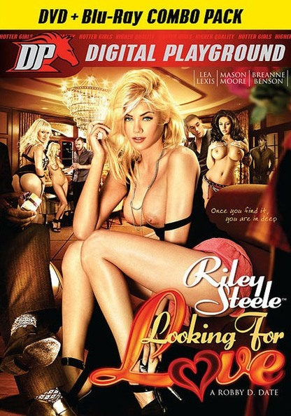 Riley Steele: Looking For Love - DVD + Blu-ray Combo Pack
