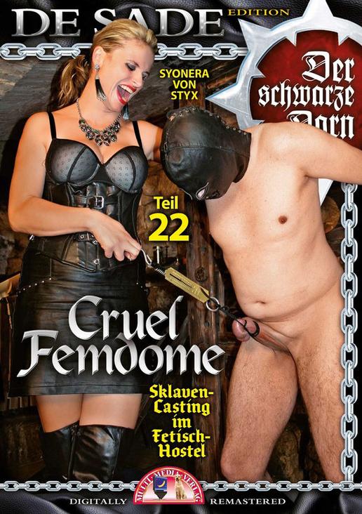 Cruel Femdome 22: Sklaven-Casting im Fetisch-Hostel
