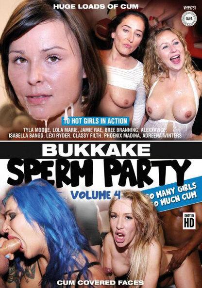 Bukkake Sperm Party 4