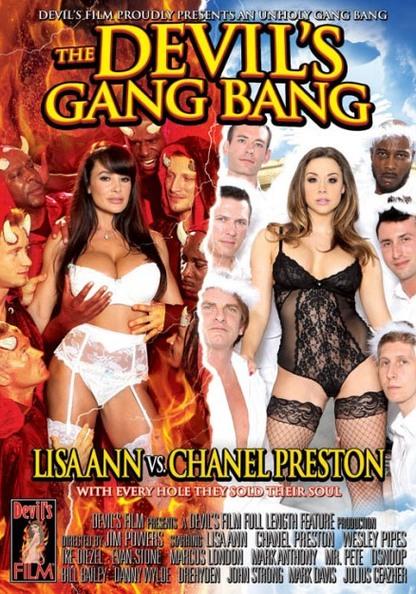 The Devil's Gang Bang: Lisa Ann vs. Chanel Preston