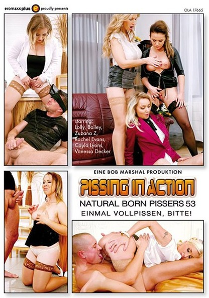 Pissing In Action - Natural Born Pissers 53
