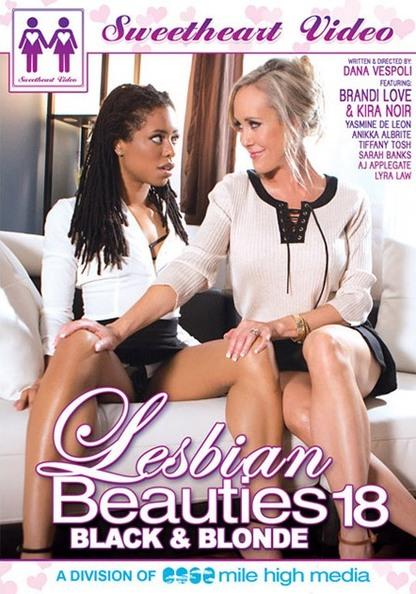 Lesbian Beauties 18: Black & Blonde