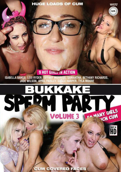 Bukkake Sperm Party 3