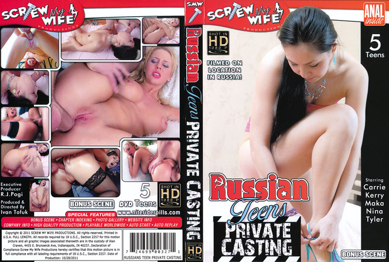 Russian Teen Anal Party