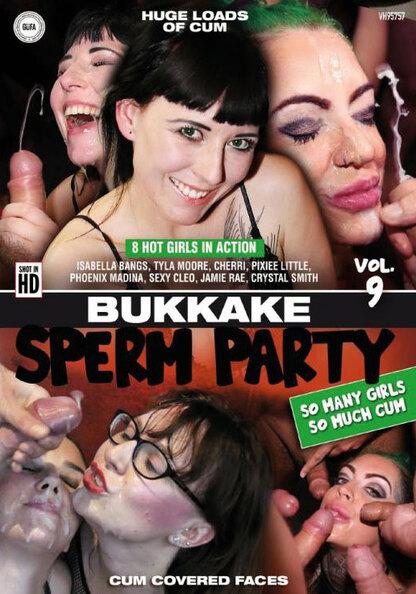 Bukkake Sperm Party 9